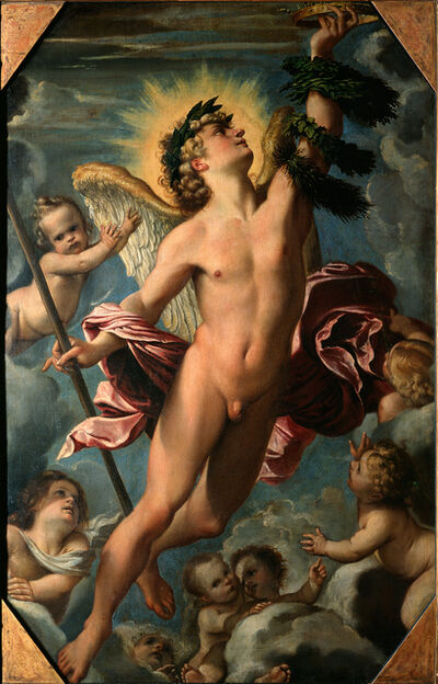 Annibale Carracci, 'The Genius of Fame', 1588/89