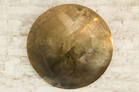 Alejandra Prieto, 'Pyrite convex mirror ( fool's gold)', 2020