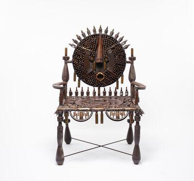 Gonçalo Mabunda, 'Untiled (throne)', 2017