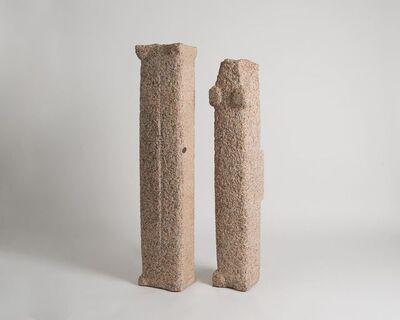 Yongjin Han, 'Two Standing Stones', 1987