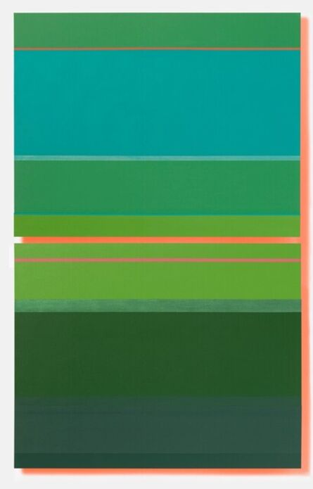 Jane Lincoln, 'Gregarious Green', 2021
