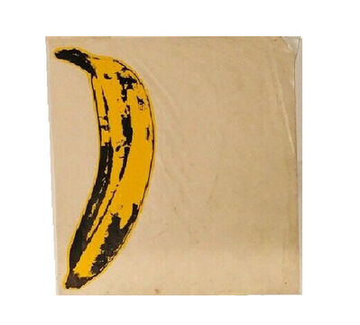 """Andy Warhol, '""""The Velvet Underground Banana Stickers"""", ONE Original Unpeeled Banana Sticker Designed by Warhol for the  Debut Album """"The Velvet Underground & Andy Warhol"""", Extremely RARE', 1967"""