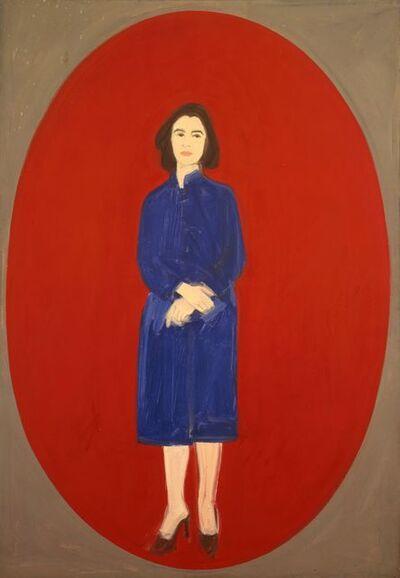Alex Katz, 'Ada (Oval)', 1959