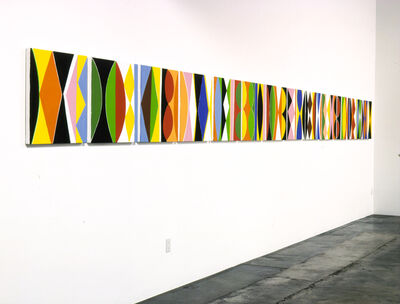 Kim MacConnel, 'Untitled Canvas #1 – 13', 2004