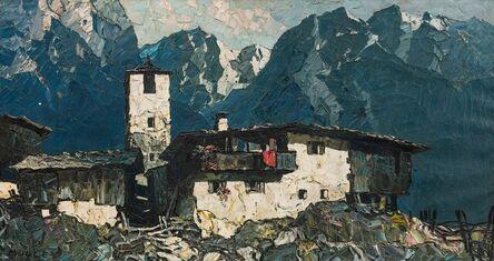 Oskar Mulley, 'Mountain Village', ca. 1930/1935