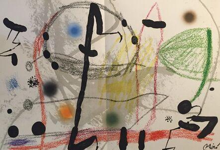 Joan Miró, 'Maravillas con Variaciones Acrosticas en El Jardin de Miro Plate 13', 1975