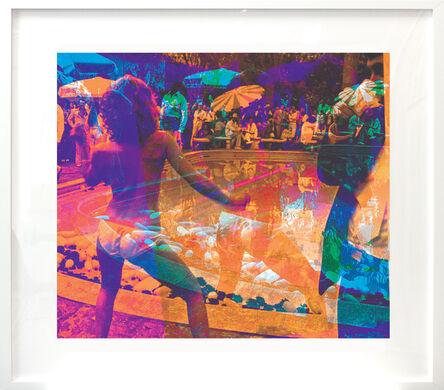 Marco Pittori, 'Double Take Orange (framed)', 2015