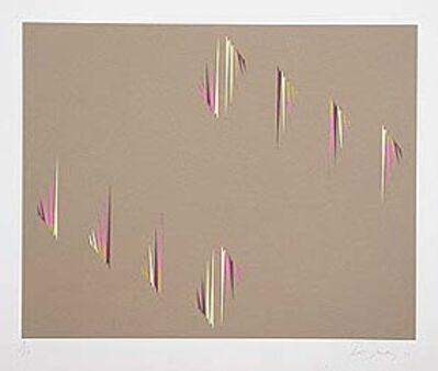 Tess Jaray RA, 'April Suite I (ochre)', 1971