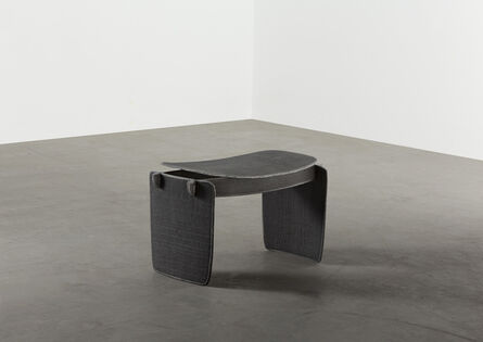 Aki and Arnaud Cooren, 'Tiss-Tiss Tabouret Bas A Black', 2019