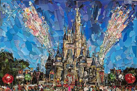 Vik Muniz, 'Magic Kingdom (Postcards from Nowhere)', 2020