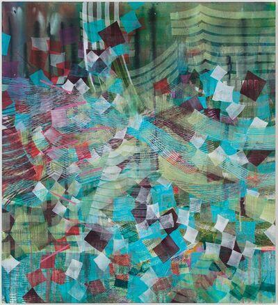 Alyse Rosner, 'Meld (aqua)', 2019