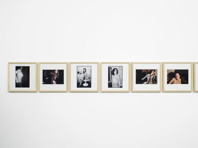 Julião Sarmento, '75 photographs, 35 women, 42 years', 2011