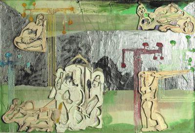 Mohan Samant, 'River Crossing', 1980