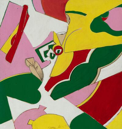 Knox Martin, 'Untitled (Woman)', 1972