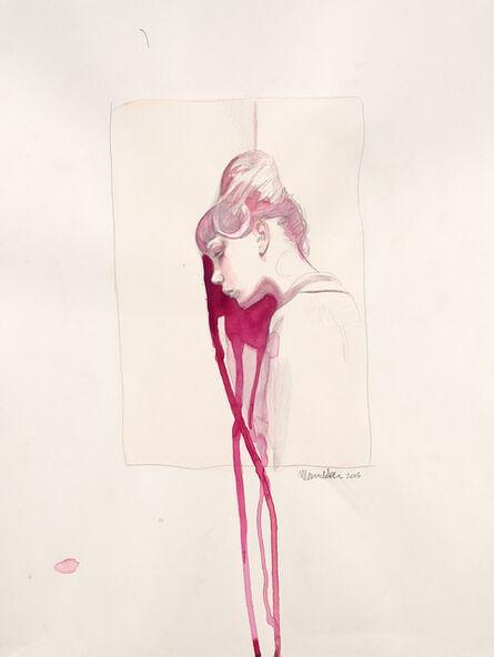 Mercedes Helnwein, 'Thought (Summer and Wall)', 2013