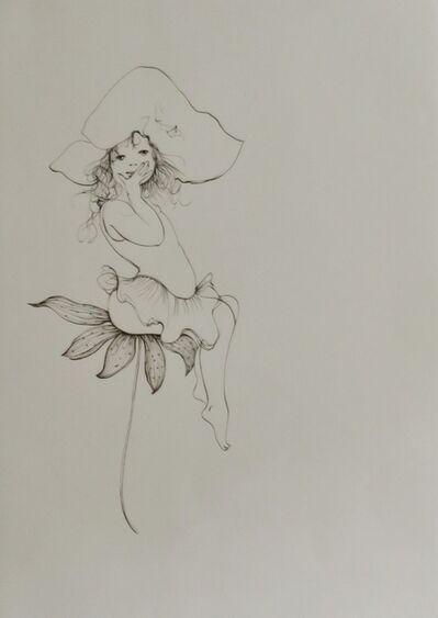 Leonor Fini, 'Les petites filles modèles VIII', 1973
