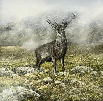Garry Pereira, 'My Monarch - wildlife landscape painting', 2020