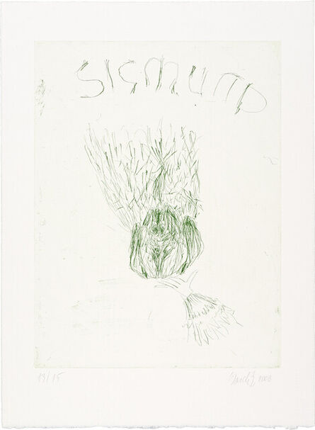 Georg Baselitz, 'Wittelsbacher Schwan', 2000