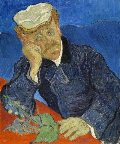 Vincent van Gogh, 'Doctor Paul Gachet (1828-1909)', 1890