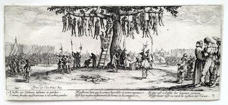 Jacques Callot, 'Les Grandes Miseres de la Guerre: the set of 18', 1633