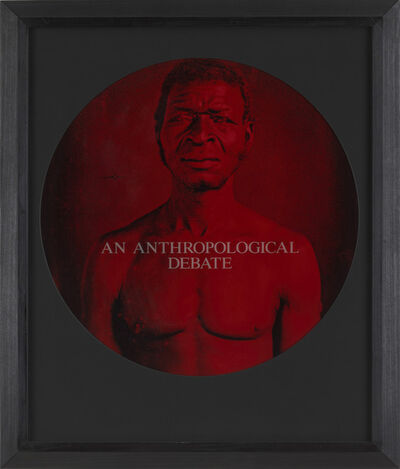 Carrie Mae Weems, 'An Anthropological Debate (from From Here I Saw What Happened and I Cried)', 1995-1996