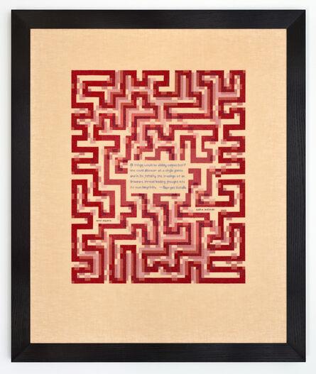 Elaine Reichek, 'All Things ', 2013