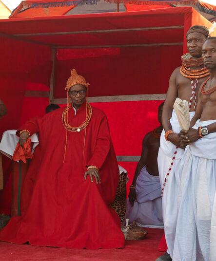 George Osodi, 'HRM Solomon Akenzua, Oba Erediauwa of Benin Kingdom', 2012
