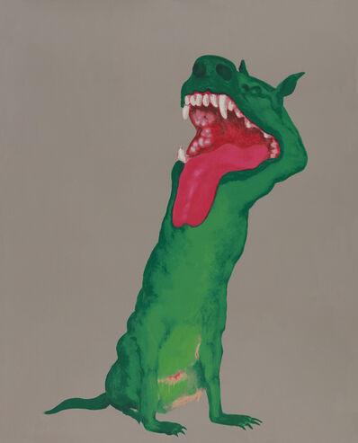 Zhou Chunya 周春芽, 'Green Gog', 2010