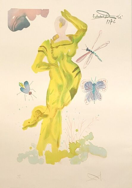 Salvador Dalí, 'L'art d'aimer', 1978