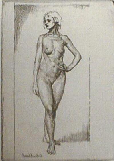 Gerald Leslie Brockhurst, 'Ursula', 1922