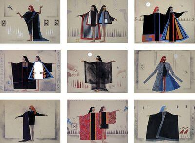 Chant Avedissian, 'Costume Drawings 1990', 2017