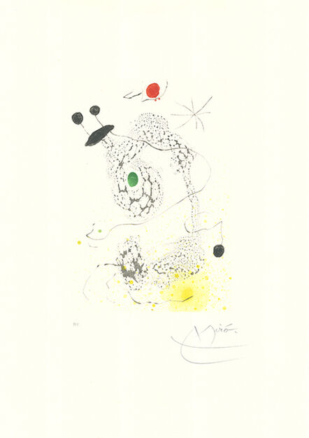 Joan Miró, 'Passacaille', 1968