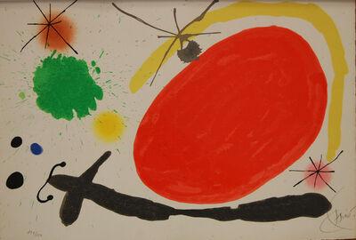 Joan Miró, 'La Japonaise (Japanese Woman)', 1971