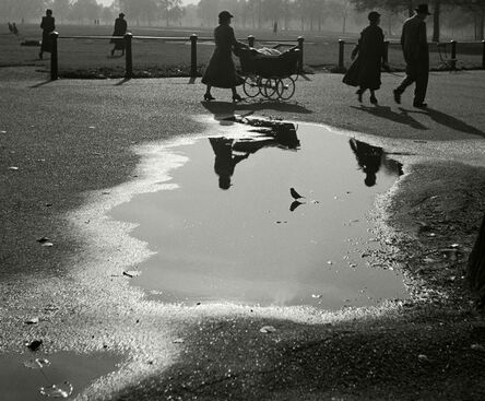 Herbert List, 'Hyde Park, London.', 1936