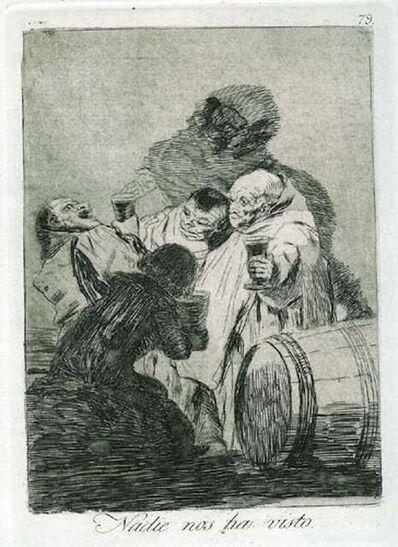 Francisco de Goya, 'Nadie Nos Ha Visto', 1881-1886