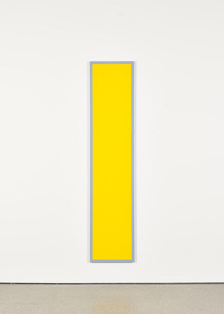 Ian Wallace, 'Untitled (Yellow Monochrome with Grey)', 1967-2009