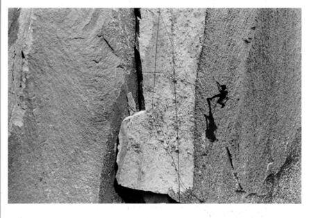 Glen Denny, 'LITO TEJADA-FLORES ON BOOT FLAKE, EL CAPITAN', ca. 1960