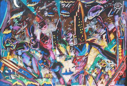 Carlos Almaraz, 'Laughing and Crying', 1987