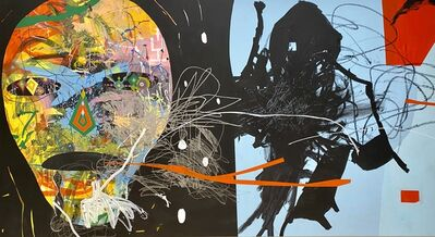 Herbert Baglione, 'Basquiat Homage 1', 2018