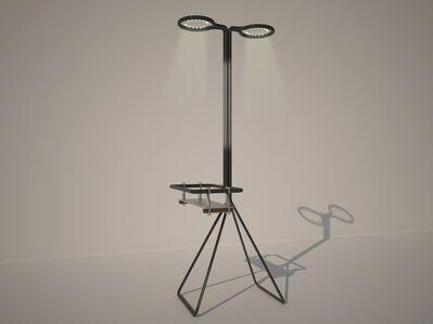 Marc Baroud & Marc Dibeh, 'Lamp with shelf', 2013