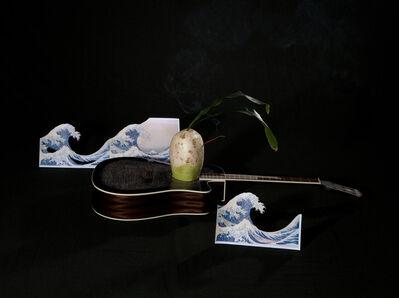 Yoo La Shin, 'Guitar and Radish', 2012