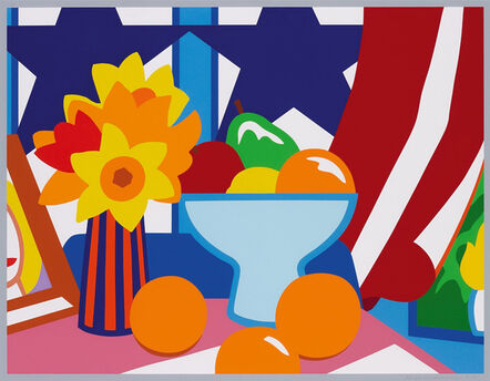 Tom Wesselmann, 'Still Life with Red Blowing Curtain', 1999