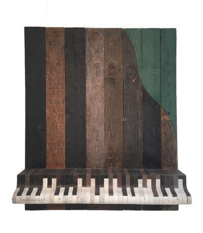Mario Ceroli, 'Pianofortissimo', 1993