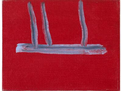 Robert Motherwell, 'Untitled (Red Open)', ca. 1970