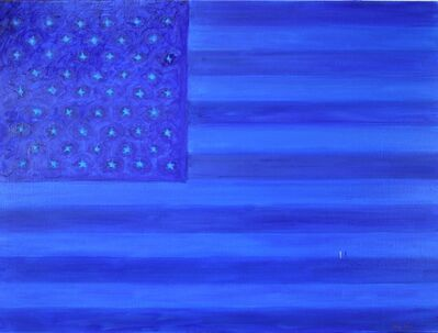 Elling Reitan, 'Blue Flag', 2016