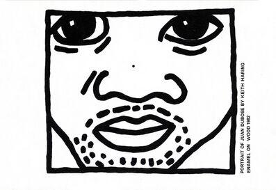 Keith Haring, 'Keith Haring Juan Dubose Area nightclub invite ', ca. 1983
