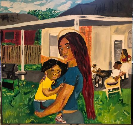 Brandon Thompson, 'Ladonna and Child', 2018
