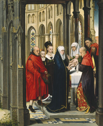 """Master of the Prado """"Adoration of the Magi"""", 'The Presentation in the Temple', ca. 1470/1480"""