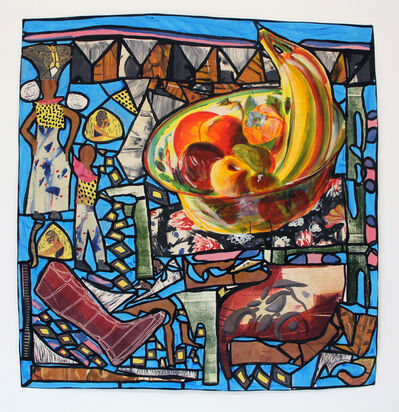 Paula Wilson, 'Back from the Market-- Stained Glass', 2017