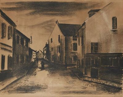 Maurice de Vlaminck, 'Une Rue à Pontoise [Walterskirchen 153]', 1921
